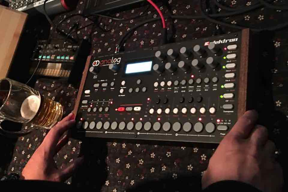 Analog Four and volca fm