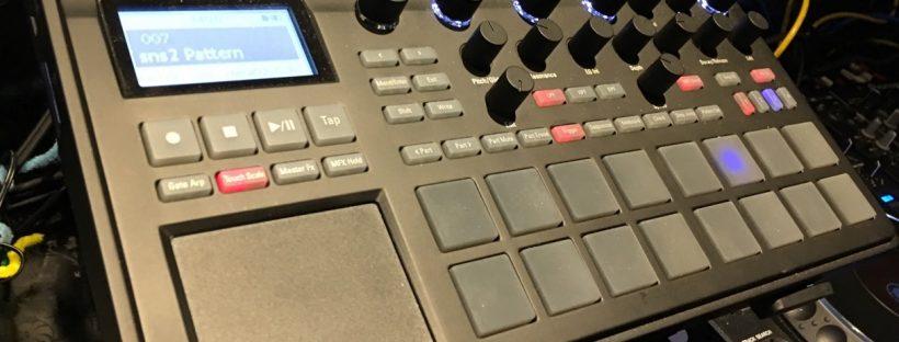 electribe sampler playing SNS-bu